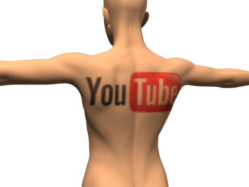 YouTube tattoo. You know you're spending too much time on YouTube when.